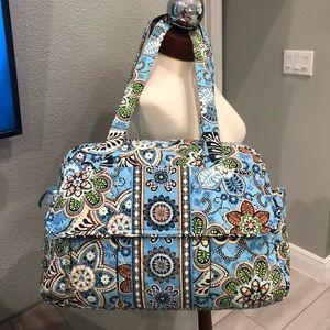 Authentic Vera Bradley Baby/ Overnight Travel Bag